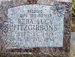 Reba Lucy <i>Kelly</i> Fitzgibbons