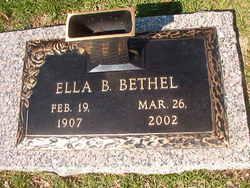 Ella B Bethel