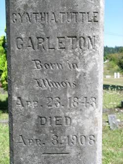 Cynthia <i>Tuttle</i> Carleton