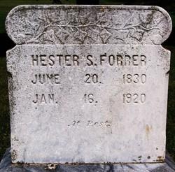 Hester S. Forrer