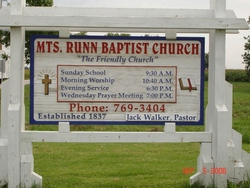 Mounts Runn Baptist Cemetery
