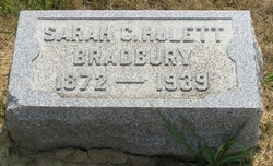 Sarah C. <i>Hulett</i> Bradbury