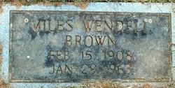 Miles Wendell Brown