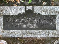 Martha Washington <i>White</i> Snelson