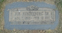 Joseph Henry Joe Funderburg