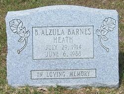 Betty Alzula <i>Barnes</i> Heath