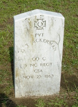 Pvt G. Y. Ackerman
