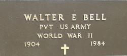 Walter Eugene Shorty Bell