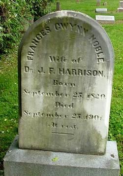 Frances Gwynn <i>Noble</i> Harrison