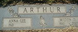 Anna Lee <i>Turpin</i> Arthur