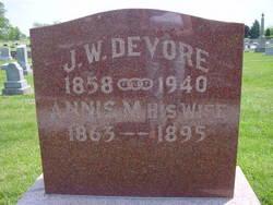 Annis M. <i>McGraw</i> Devore