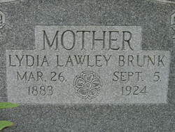 Lydia <i>Lawley</i> Brunk