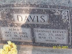 Hannah Augusta <i>Reeves</i> Davis