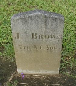Pvt J. Brown