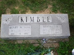 Bertha M. Kimble