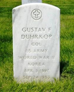 Gustav Friedrich Duhrkop