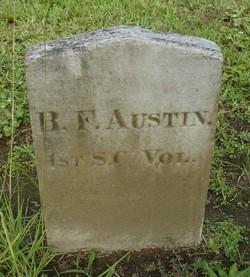 Pvt B. F. Austin