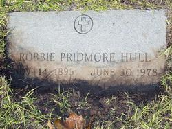 Robbie <i>Pridmore</i> Hull