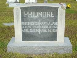 Martha Jane Marthy <i>Baird</i> Pridmore