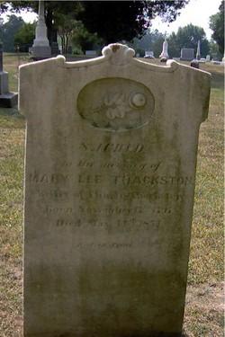 Mary LEE <i>Dabbs</i> Thackston