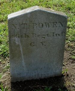 Pvt N. T. Bowen