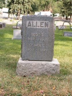 Clara E. Allen