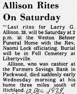 Larry Gene Allison
