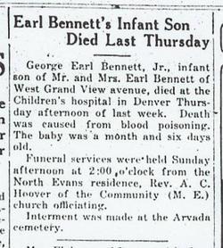 George Earl Bennett, Jr