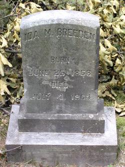 Ida M Breeden