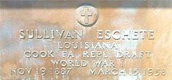Sullivan Joseph Eschete