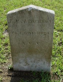 Pvt J. M. Anderson