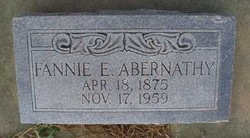 Fannie Eulalee <i>Mayfield</i> Abernathy