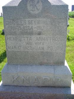 Henrietta <i>Armstrong</i> Knapp