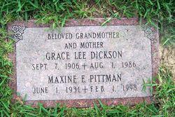 Maxine Elizabeth <i>Dickson</i> Pittman
