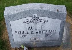 Bethel D <i>Whitehall</i> Acuff