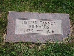 Hester Telle <i>Cannon</i> Richards