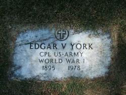 Edgar V. York