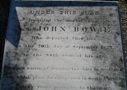 Maj John Bowie