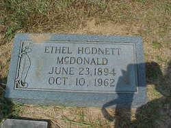 Ethel <i>Hodnett</i> McDonald