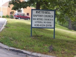Bethel Baptist Church Cemetery