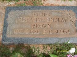 Josephine <i>Findlay</i> Brown