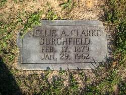 Nellie A <i>Clarke</i> Burchfield