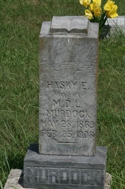 Hasky Ellen <i>Stewart</i> Murdock