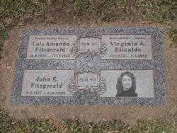 Virginia Ann <i>Fitzgerald</i> Elizalde