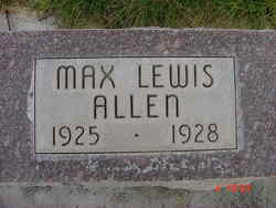 Max Lewis Allen