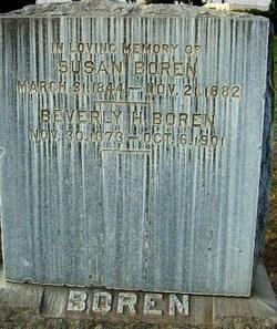 Beverly H Boren