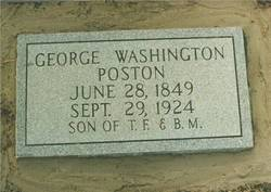 George Washington Poston