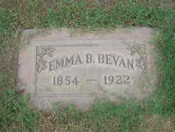 Emma B. <i>Neice</i> Bevan