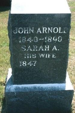 Sarah Ann <i>Fanning</i> Arnold