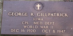 Corp George Russell Gillpatrick